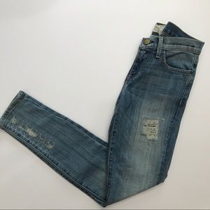 Current Elliot The Ankle Skinny Patchwork